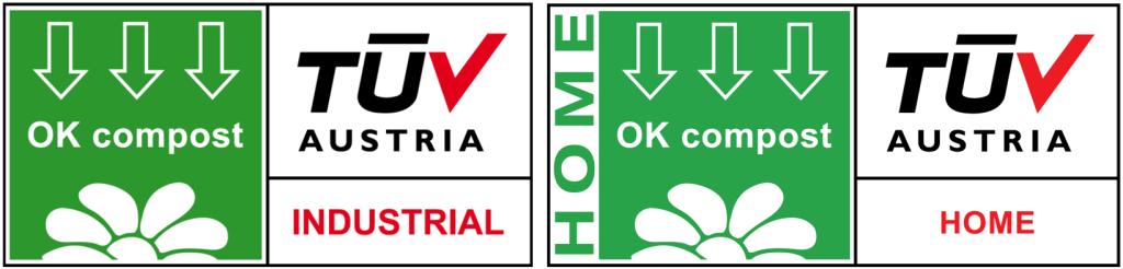 certifications tuv austria ok compost ok compost home bioplastique biodégradable